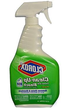 Clorox 01204 Clean-Up Disinfectant Cleaner with Bleach, 32 f
