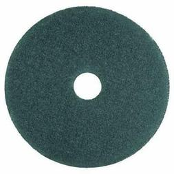 """3M Cleaner Floor Pad 5300, 12"""", Blue - Includes five pads."""