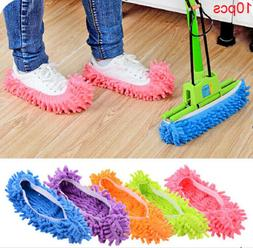 10pcs Quick Polishing Cleaning Dust Cleaner Lazy Mop Slipper