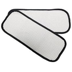 2 Washable Steam Mop Pads to fit Eureka Enviro 310A 311A 313