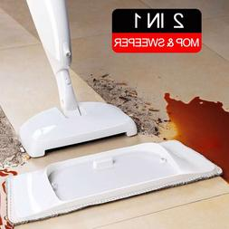 2 in 1 <font><b>Spray</b></font> Mop Broom for Hardwood <fon
