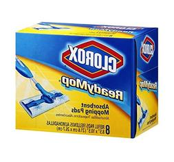 Clorox Ready Mop Absorbent Mopping Pads 2 Boxes of 16 Pads 14905