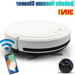 3 IN 1 Smart Robot Vacuum Cleaner Auto Cleaning Microfiber M