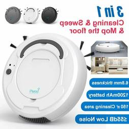 3 in 1 Smart Sweep Robot 1800Pa Vacuum Cleaner Floor Edge Au