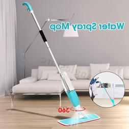 360 Spin Head Dust Mop Water Spray Household Flat Mop Floor