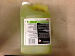 3M 3A Neutral Floor Cleaner Concentrate, 1.9 L, Green/Yellow