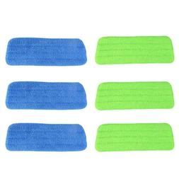 3Pcs Water Spray Household Flat Mop Floor Cleaner Microfiber