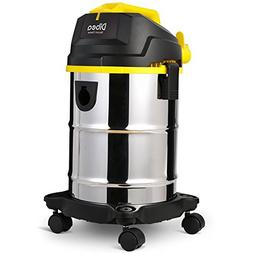 Dibea 5 Gallon, 4.5 Peak HP Stainless Steel Wet Dry Floor Va