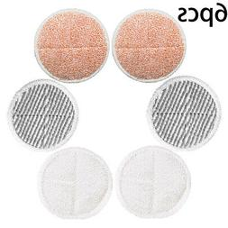 6pcs Vaccum Floor Cleaning Pads For Bissell Spinwave 2039A 2