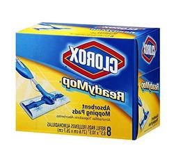 8 Pk, Clorox Ready Mop Cleaning Pads 8 Ct.