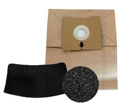 Bissell 5 Bag & Filter Kit for 4122 Zing Bagged Canister, 14