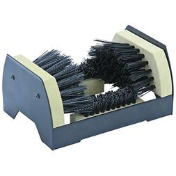 Floor Mount Boot and Shoe Brush Dirt Mud Cleaner Shoes Clean