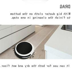 automatic mopping sweeper vacuum cleaner household wet