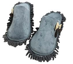 Panda Superstore Bowknot Cotton Mop Slippers Removable And W
