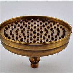 DFEWSF Brass Rainfall Shower Head Round Shape 8 -Inch Rain B