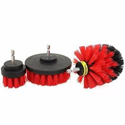 Chrikathy Cleaning Brush Electric Drill Head Set Kit General