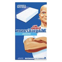 "Mr. Clean 82027 Magic Eraser Foam Pad, 2 2/5"" x 4 3/5"", Whit"