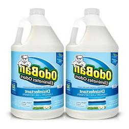 OdoBan 1 Gal Concentrate 4-Pack, Fresh Linen Scent - Odor El