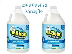 OdoBan 1 Gal Concentrate 2-Pack, Fresh Linen Scent - Odor El