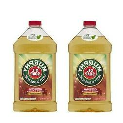 Murphy Original Concentrated Wood Floor Cleaner, 32oz 2 Pack