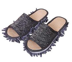 Creative Detachable Mop Slippers Floor Cleaning Slippers