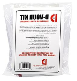 D'Vour Clean Up Kit, Follows OSHA Guidelines  Category: Floo