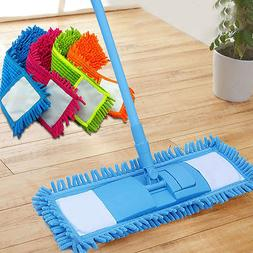 Extendable Microfibre Floor Mop Cleaner Sweeper Head Wet Dry