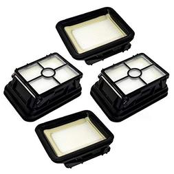 HQRP 4-Pack Filter for Bissell 2328, 2305, 2305K, 2303, 2306