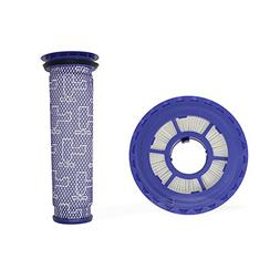 Pre Filter & HEPA Post Filter for Dyson vacuums, Replacemen