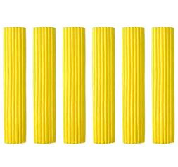 Set of 6 Foldable Sponge Mop Replacement Heads, Good Absorbe