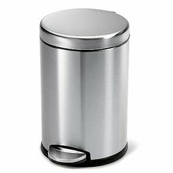 Gallon Touch Free Trash Can Kitchen Stainless Steel Garbage