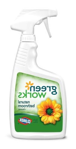 Green Works Bathroom Cleaner, Cleaning Spray - 24 Ounces