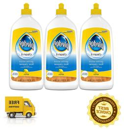 Pledge Gentle Wood Floor Cleaner Lemon Scent 3-Pack 27 fl oz