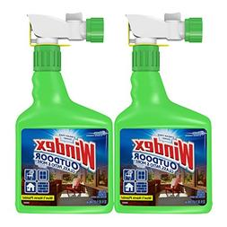 Windex Outdoor Glass and Patio Concentrated Cleaner, 32 Ounc