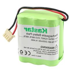 Kastar GPHC152M07 Battery , Ni-MH 7.2V 2000mAh, Replacement