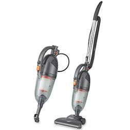 VonHaus Gray 2 in 1 Corded Lightweight Stick Vacuum and Hand