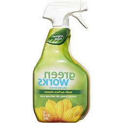 Green Works Multi-Surface Cleaner, Cleaning Spray - Original