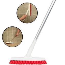 Grout Brush with Long Handle - Extendable Telescopic Handle