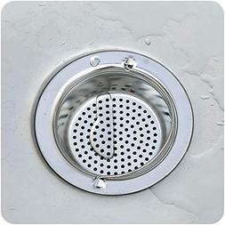 Hair Stoppers Catchers - Stainless Sink Filter Screen Floor