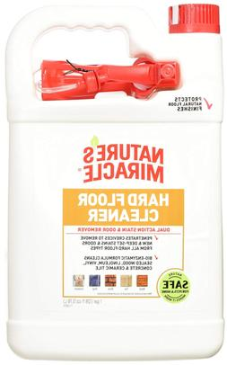 Nature's Miracle Hard Floor Cleaner Dual Action Stain and Od