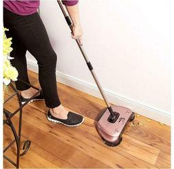 Lightweight Hard Floor Broom Swivel Sweeper Multi-brush Indo