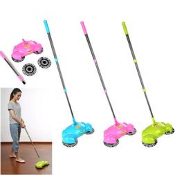 Household Hand Push Sweeping Broom Room Floor Dust Sweeper C