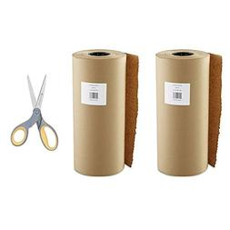Boardwalk Kraft Paper, 18 in x 900 ft, Brown - 2 Pack with S