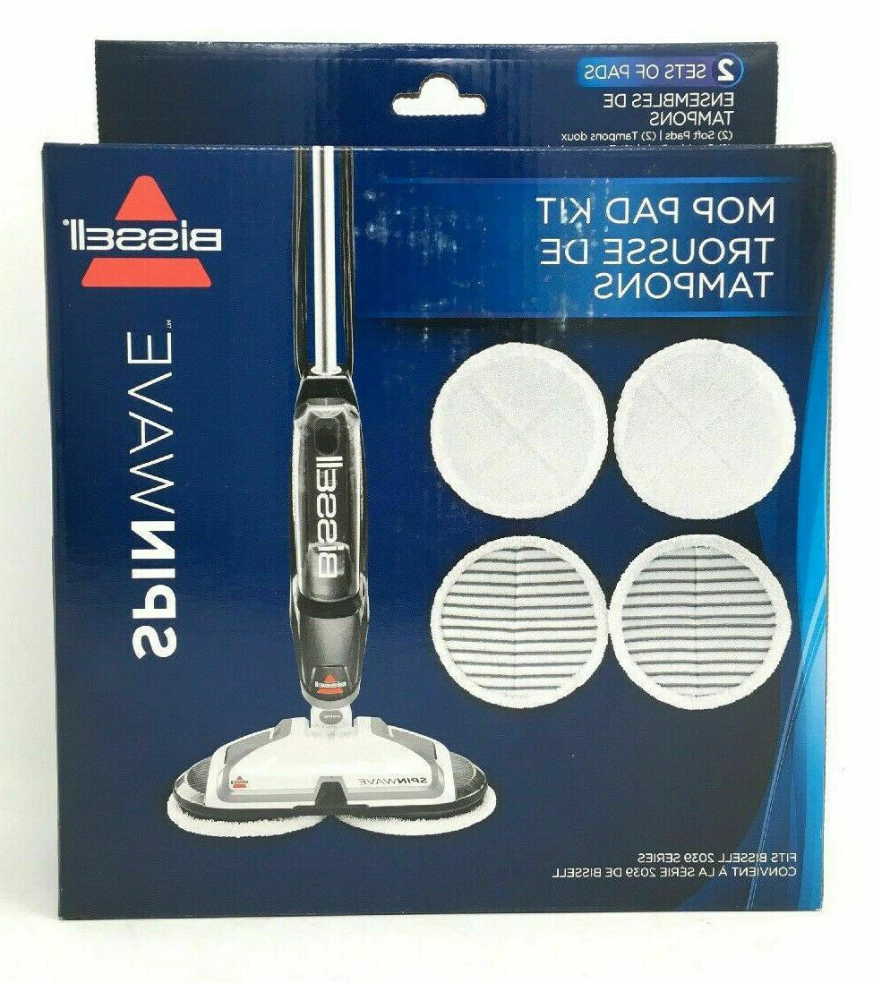 2124 genuine spinwave mop pad replacement kit
