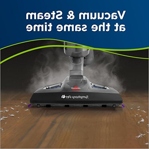 Bissell Pet Mop and Steam Cleaner for Hardwood Tile with Mop 1543A
