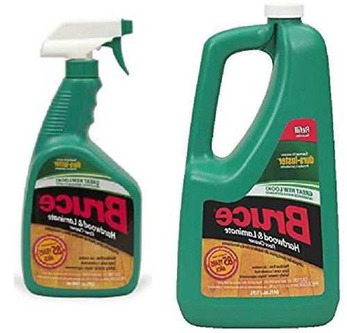 Bruce 64 oz+32oz NoWax Hardwood and Laminate Floor Cleaner V