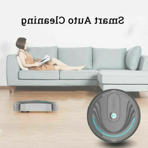 Automatic Rechargeable Smart Vacuum Sweeping Suction Robotic