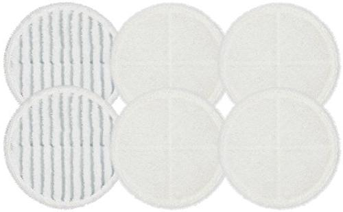 Flintar 2124 Replacement Mop Pads for Bissell Bissel Hard 2039 Series, 2307, 2315A, Compatible 6-Pack