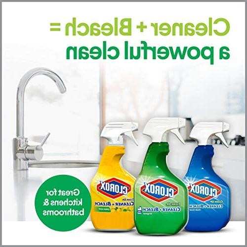 Clorox Cleaner Spray S.O.S Surface Sponge Value Pack Ounce Bottles