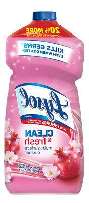 Lysol Clean & Fresh Multi-Surface Cleaner, Cherry Blossom, 4